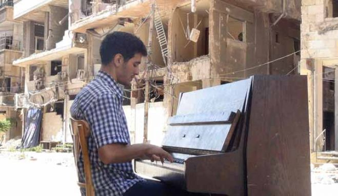 Arriva all'Auditorium  il Pianista Leggendario di Yarmouk