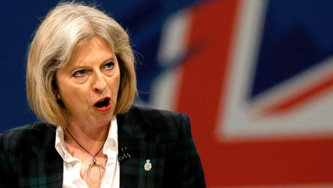 La riluttante Britannia di Theresa May