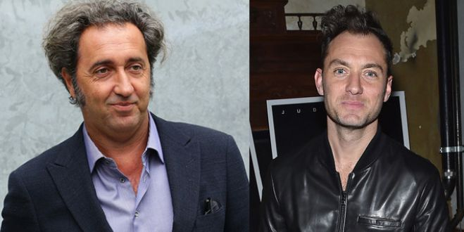"SKY. Sorrentino dirige la serie ""The young pope"" con Jude Law e Diane Keaton"