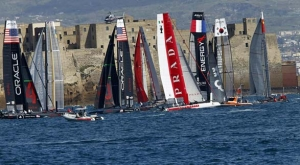 Napoli. Inizia la sfida all'America's Cup World Series