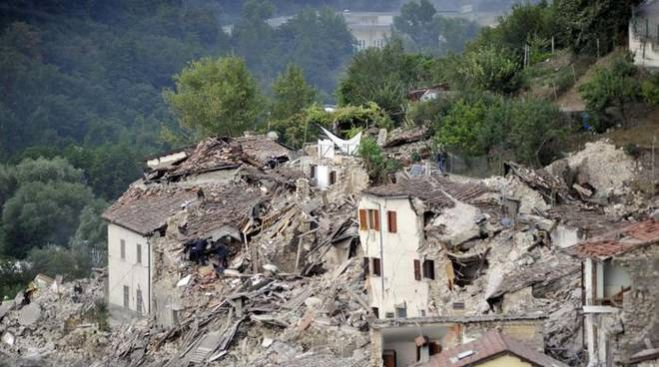 Terremoto. Bond per la messa in sicurezza del territorio