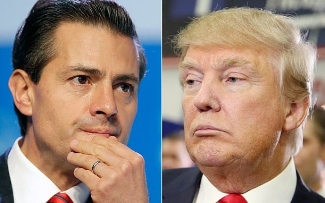Usa. Trump vola in Messico per incontrare Nieto