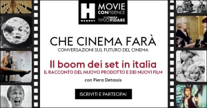 "Hearst. 30 marzo in live streaming ""Che cinema che farà"", primo appuntamento"