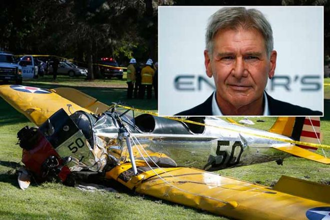 Harrison Ford ferito in incidente aereo. VIDEO