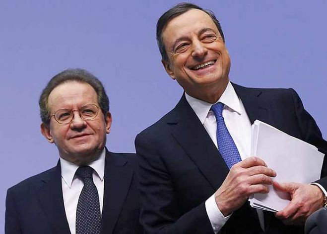 Davos, entusiasmo per decisione Bce sul quantitative easing. VIDEO