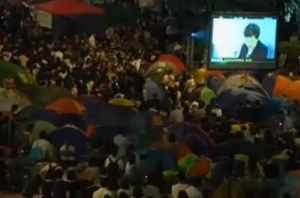 Hong Kong. Dialogo in tv studenti-governo. IL VIDEO