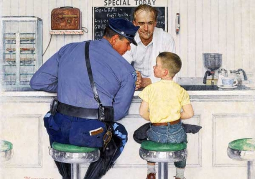 American Chronicles. The Art of Norman Rockwell