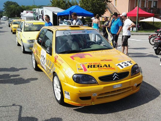 Rally cronoscalata. Weekend in salita per mancin sul Nevegal