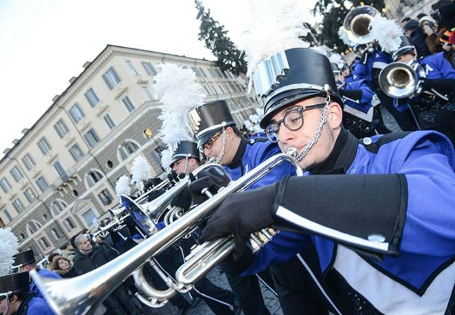 Rome News year's parade