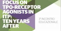 "Convegno al Policlinico Gemelli: ""Focus on Tpo_receptor agonist in ITP: ten years after"""
