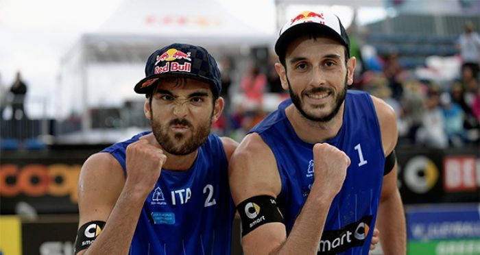 Rio 2006. Beach volley, argento per il duo Lupo Nicolai