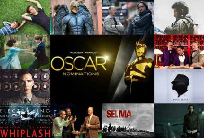 "Oscar 2015. ""American Sniper"", ""Birdman"" e ""Boyhood"" in pole position. VIDEO"