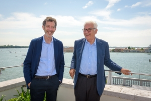 R. Rugoff e Paolo Baratta Photo by Andrea Avezzù_Courtesy of La Biennale di Venezia