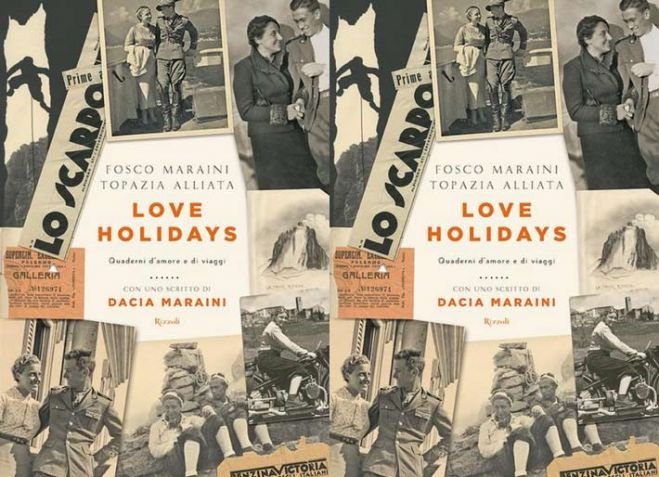 "Libri. Grandi amori. ""Love holidays"" : Topazia Alliata e Fosco Maraini. Video"