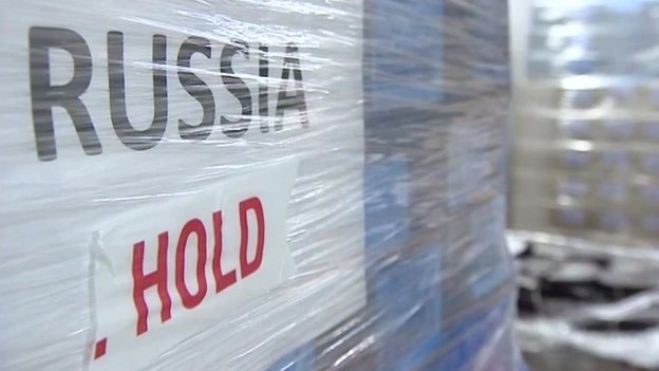 Russia, crolla l'export made in Italy