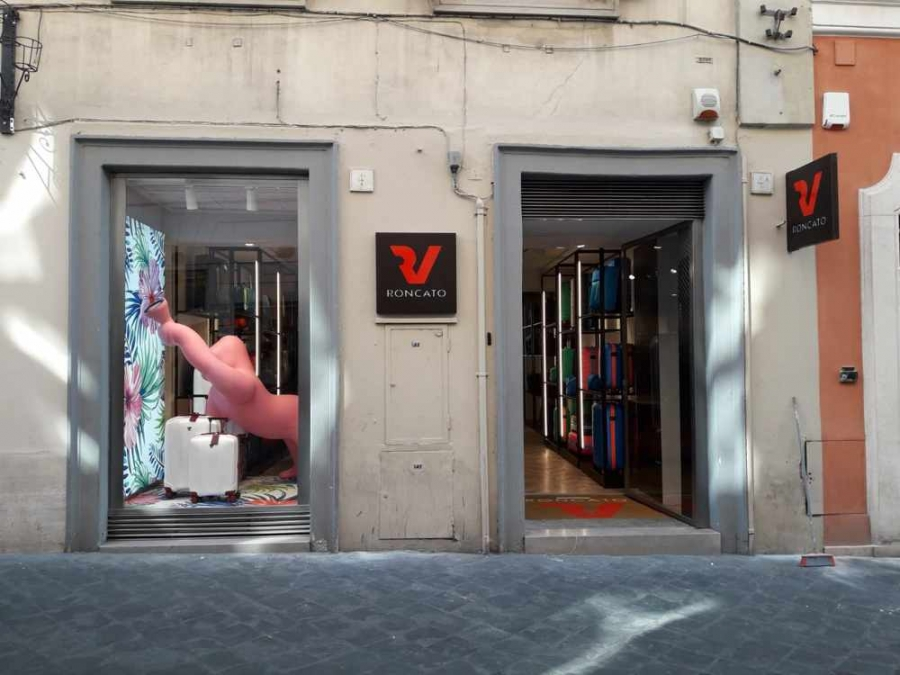 Roma. Apre in via Frattina la Valigeria Roncato, eccellenza del Made in Italy. Foto