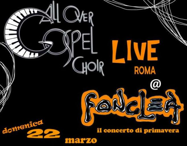 All Over Gospel Choir al Fonclea di Roma