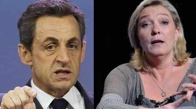 Francia. Sarko e Le Pen sfida in vista del secondo turno amministrative. VIDEO