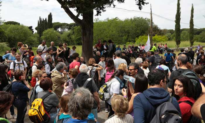 Appia day, per restituire la cultura e l'ambiente. VIDEO